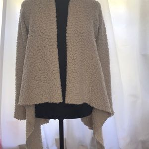 Bobeau textured cardigan sweater Size M